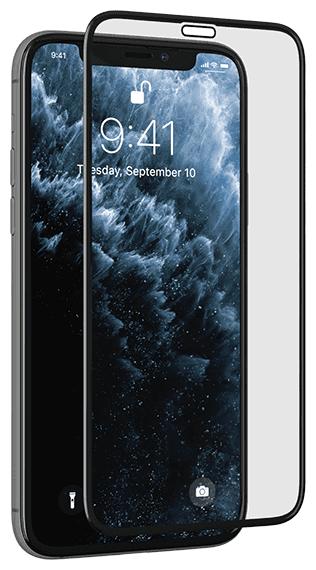 Защитное стекло uBear 3D Shield для Apple iPhone 11/Xr черный фото 1