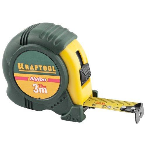 Измерительная рулетка Kraftool 34122-03-19_z01 19 мм x 3 м рулетка topex 27c343 19 мм x 3 м