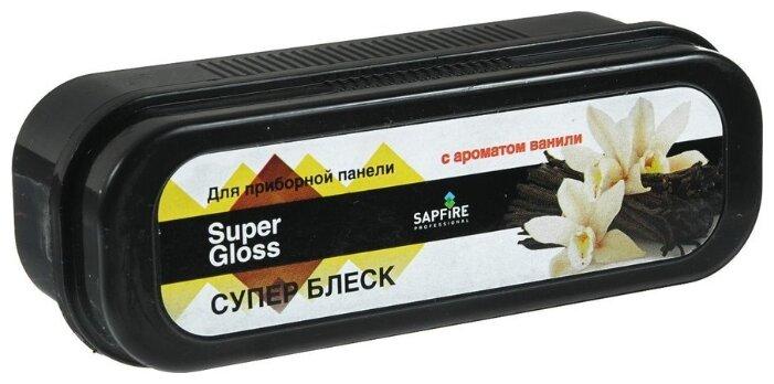 SAPFIRE Губка для салона автомобиля Суперблеск с ароматом ванили