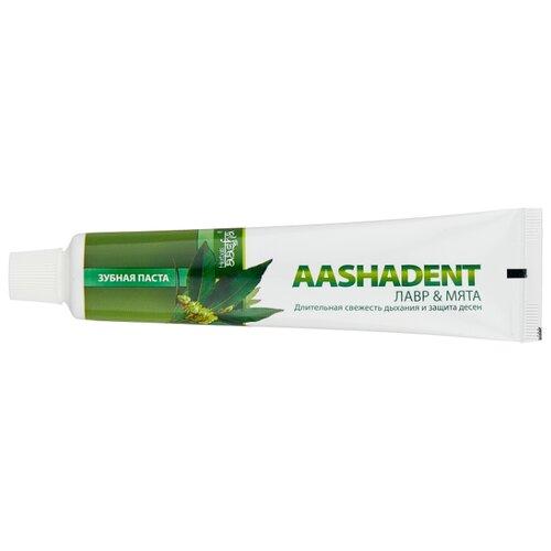 Зубная паста Aasha Herbals Лавр - Мята, 100 г зубная паста корица кардамон aasha herbals