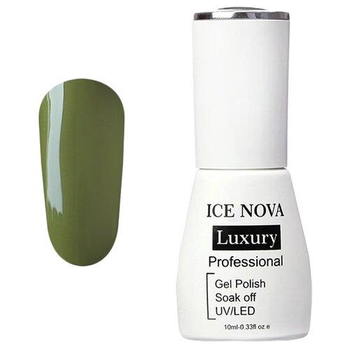 Купить Гель-лак для ногтей ICE NOVA Luxury Professional, 10 мл, 052 moss