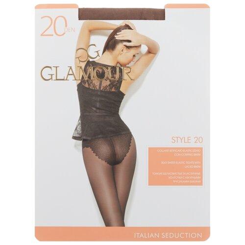 Колготки Glamour Style 20 den, размер 2-S, daino (бежевый) колготки glamour thin body 40 den размер 2 s daino бежевый