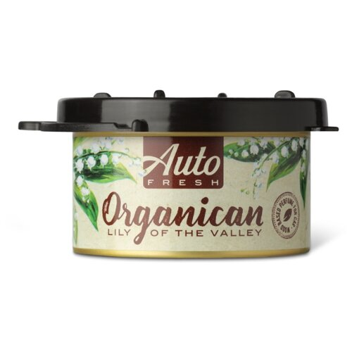 Auto Fresh Ароматизатор для автомобиля Organican Lily Of The Valley 60 г