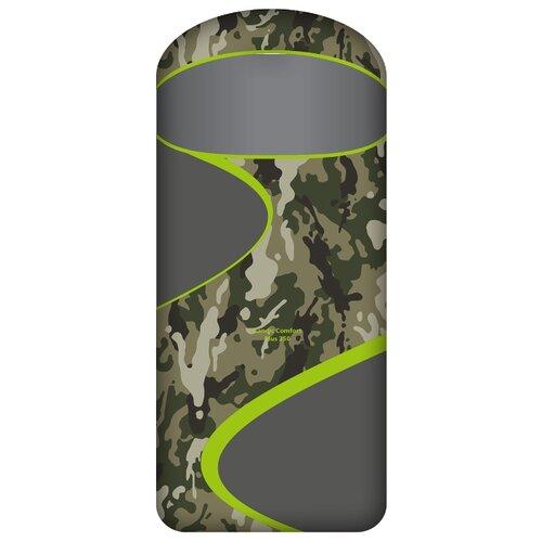Спальный мешок NORFIN Scandic Comfort Plus 350 камуфляж с правой стороны