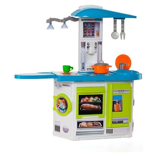 Купить Кухня Molto 18150 белый/голубой/зеленый, Детские кухни и бытовая техника