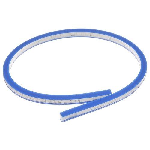 Hemline Лекало портновское 186 гибкое, 50 см синий/белый