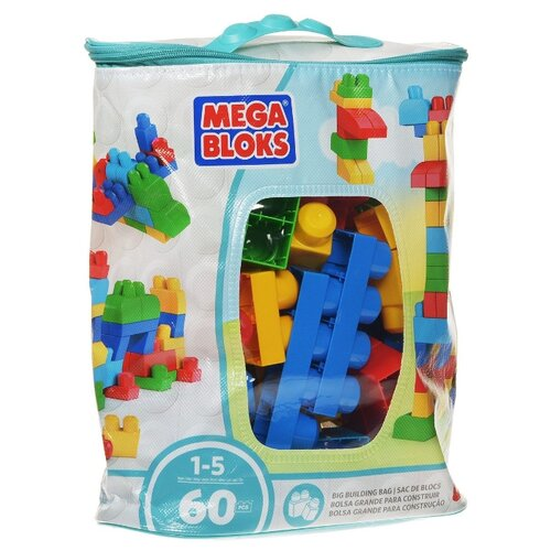 Конструктор Mega Bloks First Builders CYP67 60 деталей