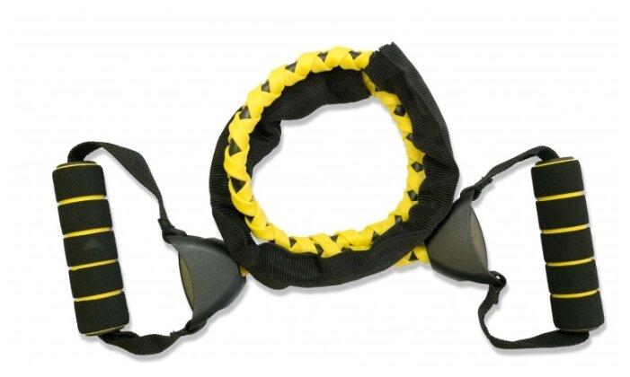 Эспандер House-Fit 6979 плетеный 114 см, черно-желтый