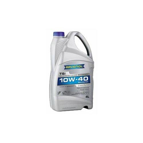 Полусинтетическое моторное масло Ravenol TSi SAE 10W-40, 4 л моторное масло ravenol tsi sae 10w 40 4 л