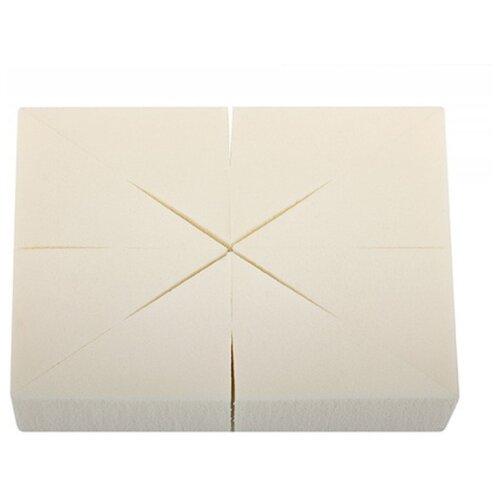 Набор спонжей Limoni В блоке треугольные 8 шт, 8 шт. белый недорого
