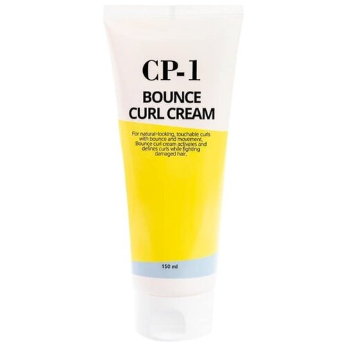 Esthetic House Увлажняющий крем для поврежденных волос CP-1 Bounce Curl Cream, 150 мл esthetic house крем cp 1 bounce curl cream ухаживающий для волос 150 мл