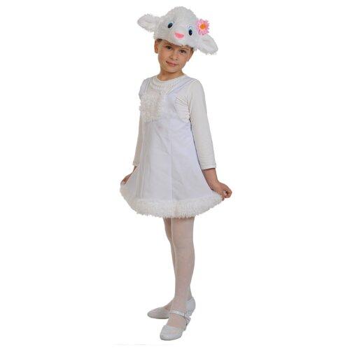 Купить Костюм КарнавалOFF Овечка плюш (3050), белый, размер 92-122, Карнавальные костюмы