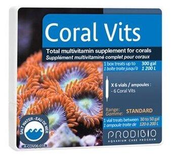 Prodibio Coral Vits жиро и водорастворимые витамины для кораллов (6 шт)