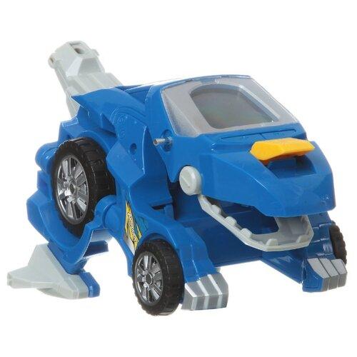 Робот-трансформер Zhorya Динобот-трансформер синий синий трансформер zhorya ударный
