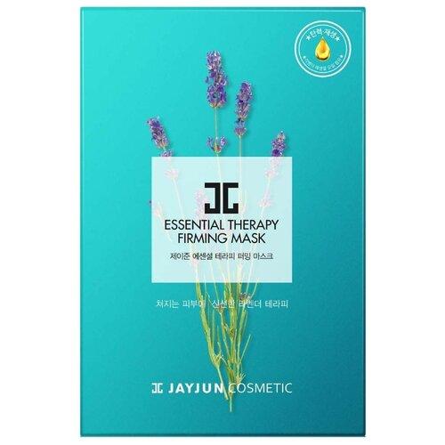 JAYJUN COSMETIC тканевая маска Essential Therapy для упругости кожи, 250 мл, 10 шт. jayjun cosmetic тканевая маска purple fragrance на основе растительных экстрактов 250 мл 10 шт