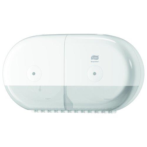Диспенсер TORK SmartOne T9 двойной для туалетной бумаги в мини-рулонах 682000 белый