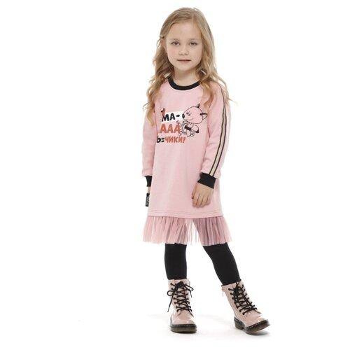 Купить Платье lucky child размер 26 (86-92), розовый, Платья и юбки