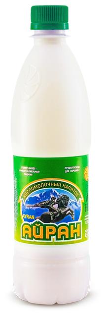 Ростовский завод плавленых сыров Айран 0.5% 0.5 л