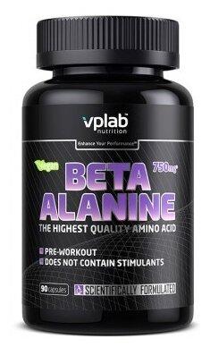Купить Аминокислота vplab Beta Alanine (90 капсул) по низкой цене с доставкой из Яндекс.Маркета