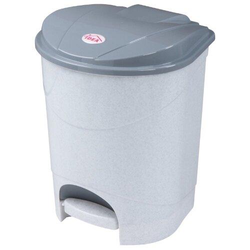Ведро IDEA (М-Пластика) М 2891, 11 л мраморный
