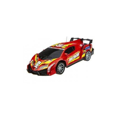 Гоночная машина 1 TOY Спортавто (T13842/T13843/T13844) 1:24 20 см красный легковой автомобиль 1 toy спортавто t13833 t13834 t13835 1 24 20 см оранжевый