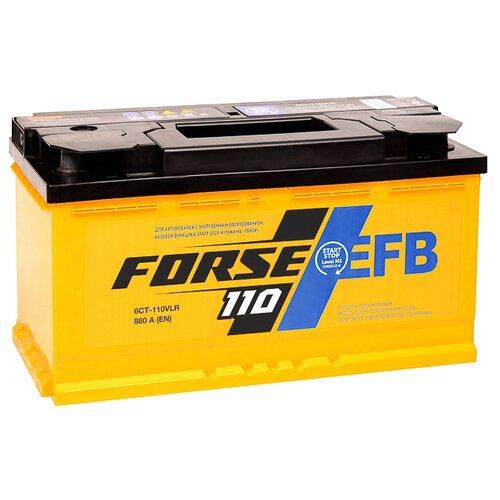 Аккумулятор Forse EFB 6СТ-110VLR аккумулятор forse 6ст 65vl jis о п