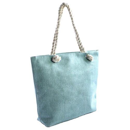 Сумка тоут Kingth Goldn C030, текстиль, зеленый сумка тоут kingth goldn c187 3 4 7 8 9 текстиль