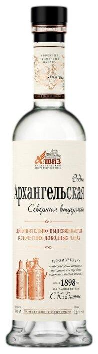 Водка Архангельская Северная выдержка, 0.25 л