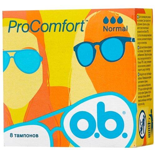 O.b. тампоны ProComfort Normal 8 шт.