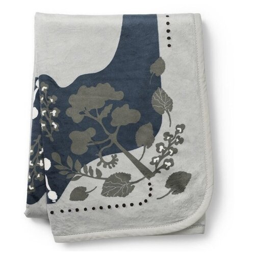 Купить Плед Elodie Rebel poodle 75х100 см mineral green, Покрывала, подушки, одеяла