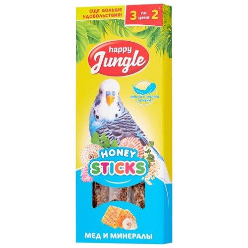 Лакомство для птиц Happy Jungle при линьке