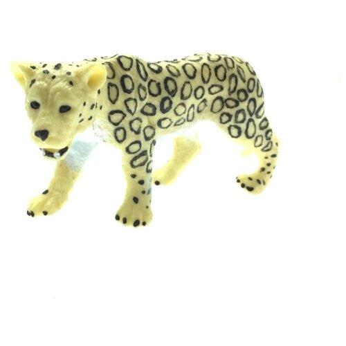 Купить Фигурка ABtoys Юный натуралист Леопард белый PT-01166, Игровые наборы и фигурки