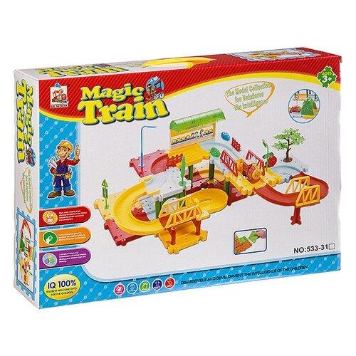Купить Стартовый набор Magic train , Б94110, Shenzhen Jingyitian Trade, Наборы, локомотивы, вагоны