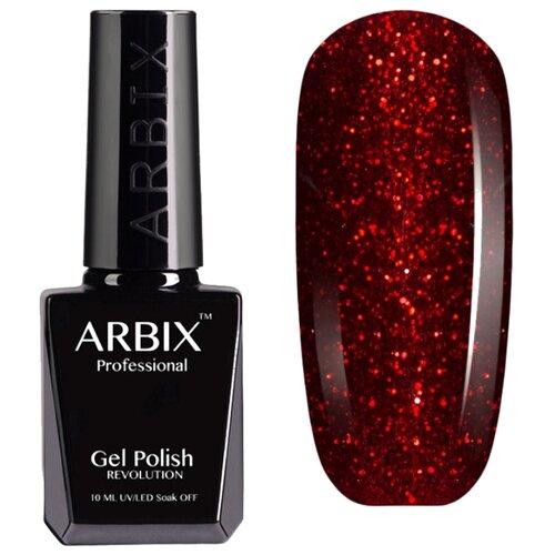 цена на Гель-лак Arbix Classic (glitter), 10 мл, оттенок 084 Мулен Руж