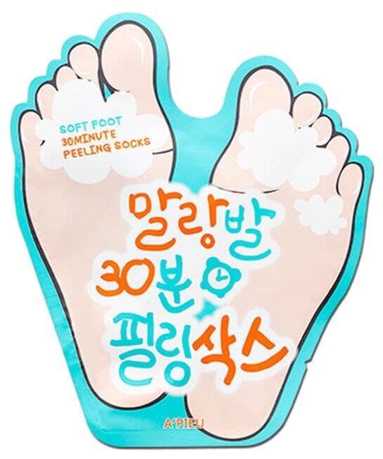 A'PIEU Пилинг носочки Soft Foot 30 Minute