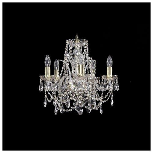Фото - Люстра Bohemia Ivele Crystal 1411 1411/5/141/G, E14, 200 Вт люстра bohemia ivele crystal 1411 1411 6 141 g e14 240 вт