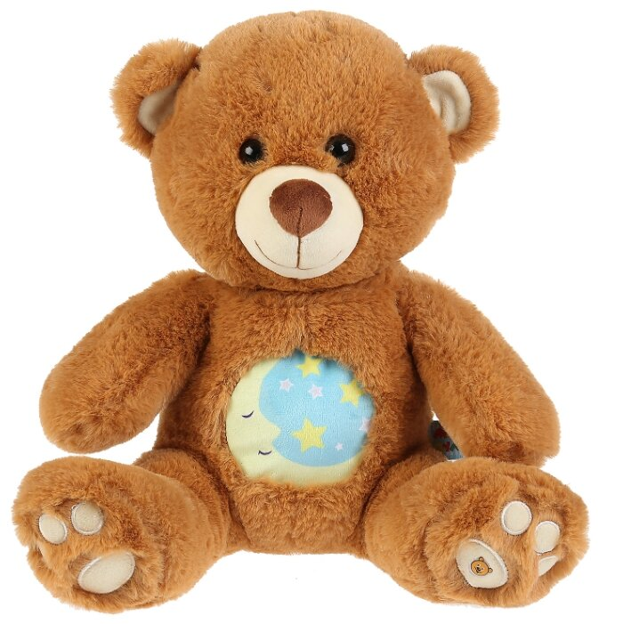 Игрушка ночник Мульти Пульти Лунный медвежонок