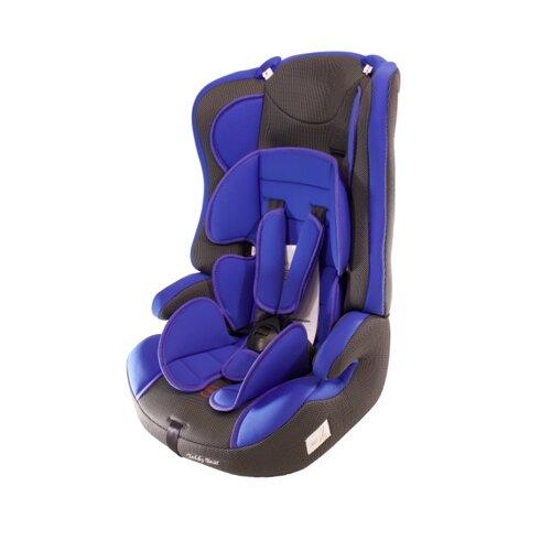 Фото - Автокресло группа 1/2/3 (9-36 кг) Мишутка LB 513RF, 10 deep blue/black dot автокресло группа 0 1 до 18 кг мишутка yb 101a brown beige