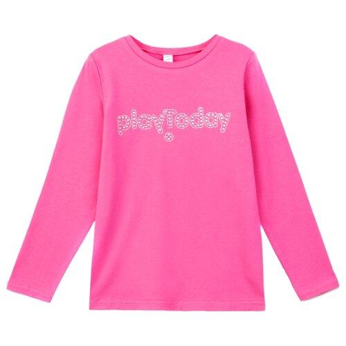Лонгслив playToday размер 110, розовый лонгслив playtoday розовый 86 размер