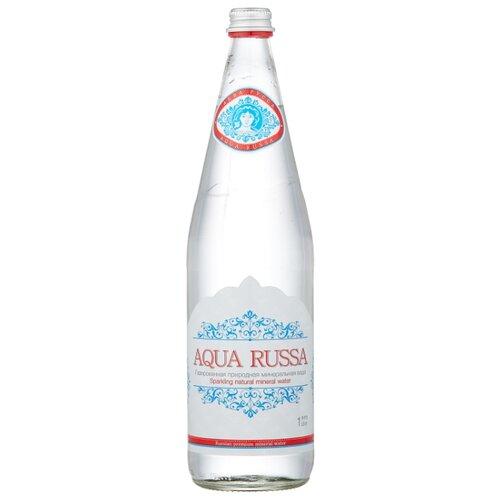 Минеральная вода Aqua Russa газированная, стекло, 1 л cucina russa