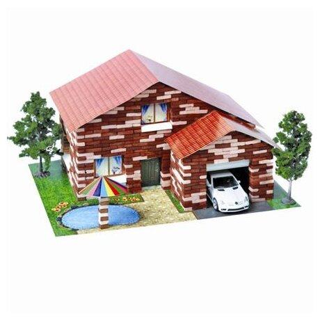 Сборная модель Архитектурное моделирование Дом с бассейном Л-05