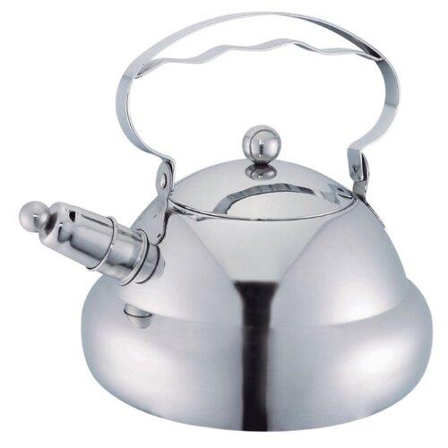 Bekker Чайник со свистком Koch BK-S469 3 л стальной