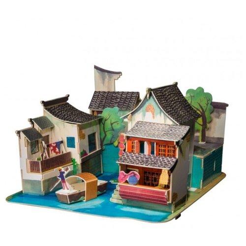Купить 3D деревянный пазл Robotime Серия Дома - Юг Китая, Сборные модели