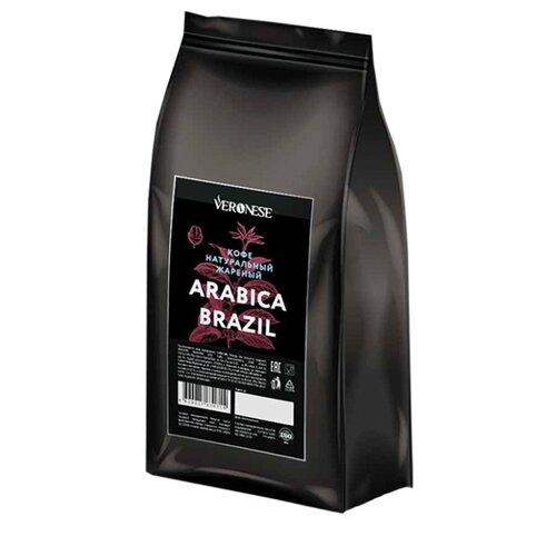Кофе в зернах Veronese Arabica Brazil, арабика/робуста, 1000 г статуэтки veronese статуэтка пара сов