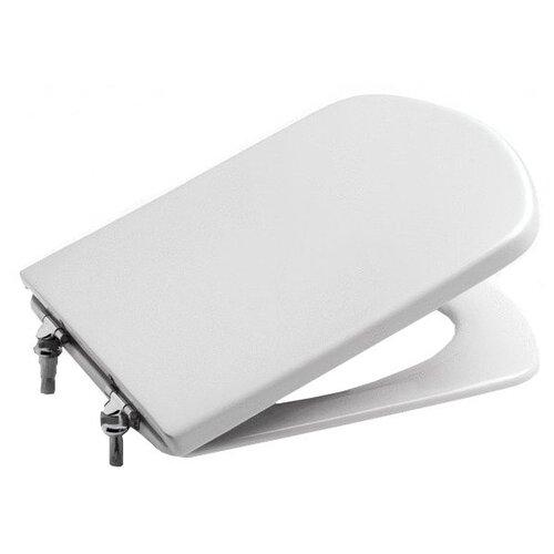 Фото - Крышка-сиденье для унитаза Roca Dama Senso 801512004 дюропласт с микролифтом белый крышка сиденье для унитаза roca dama senso zru9302820 дюропласт с микролифтом белый