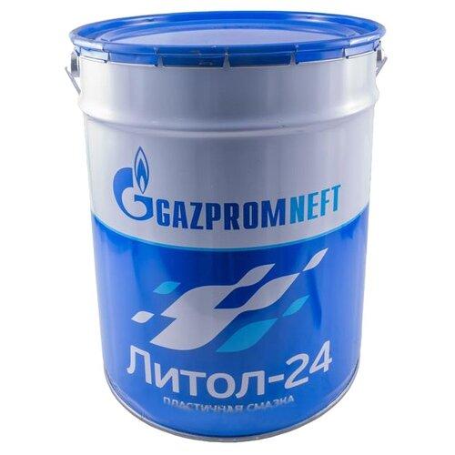 Смазка Газпромнефть ЛИТОЛ-24 18 кг газпромнефть красный 5кг