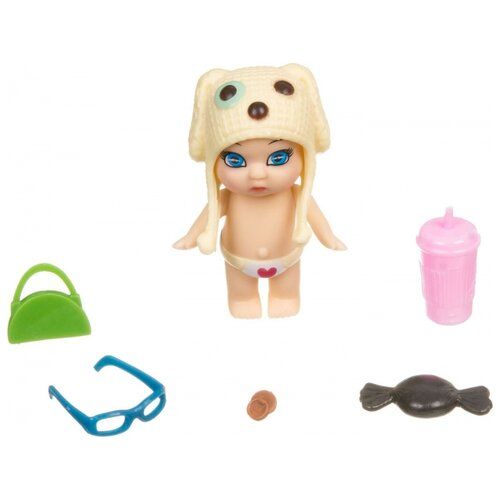 Купить Пупс BONDIBON OLY в банке, 8 см, ВВ3828, Куклы и пупсы