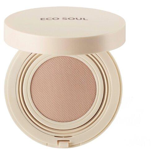The Saem Тональный крем Eco Soul Bounce Cream Foundation, 15 г, оттенок: 01 light beige