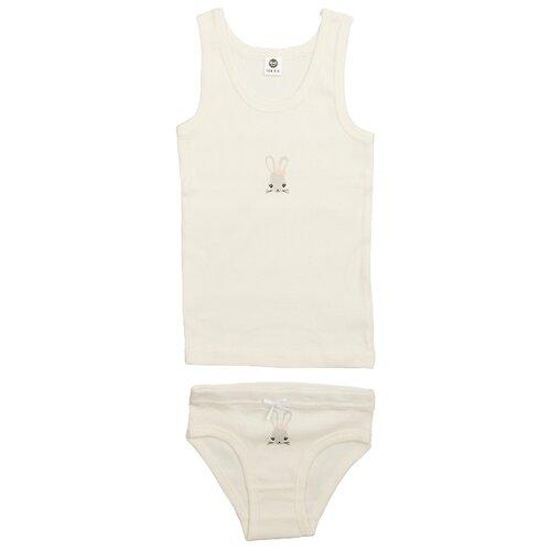 Купить Комплект нижнего белья RuZ Kids размер 116-122, молочный, Белье и купальники