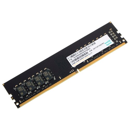 Оперативная память Apacer DDR4 2400 (PC 19200) DIMM 288 pin, 8 ГБ 1 шт. 1.2 В, CL 17, EL.08G2T.GFH